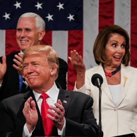 TRUMP TAKES THE HOUSE: Poll Shows 76% APPROVE of the President's Speech