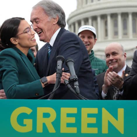 LURCHING LEFT: Here's the Complete List of Radical Democrats Co-Sponsoring Cortez' Green New Deal