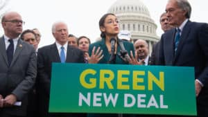 THE ADMISSION: AOC Chief of Staff Says ' New Deal' Not a 'Climate Thing,' Effort to Change 'Entire Economy'