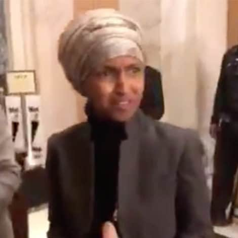 OMAR UNLOADS: Rep. SILENCES Reporters, Says 'Absolutely' Not Worried About Losing Positions