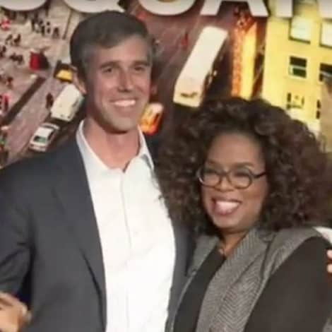 BETO ON THE BRINK: O'Rourke Tells Oprah He'll Decide On Presidential Run by 'Month's End'