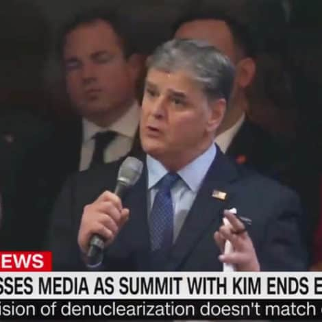HANNITY HIJACKS CNN: Hannity Asks the President to Comment on Future North Korea Negotiations