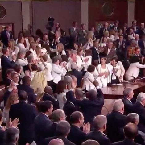 MUST SEE: Trump Leads ENTIRE Congress in 'USA' Chant Over Record Number of Women in Congress
