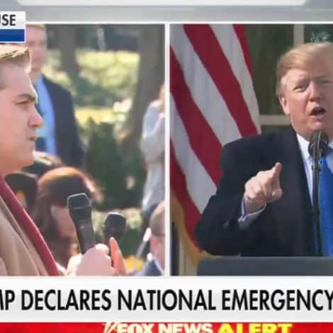 CNN SLAMMED: Trump UNLOADS on Jim Acosta for Asking if He's 'Concocting This Emergency'