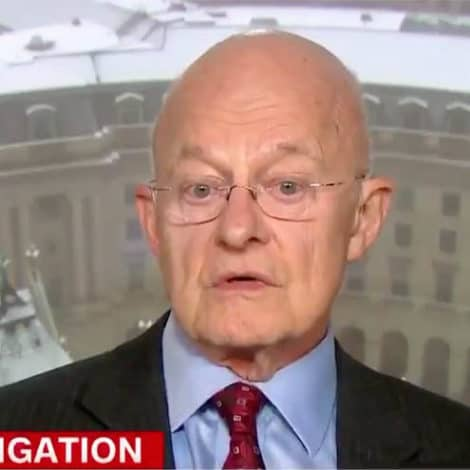 GRAVE EXPECTATIONS: James Clapper Warns CNN the Mueller Report May Be 'Anti-Climactic'