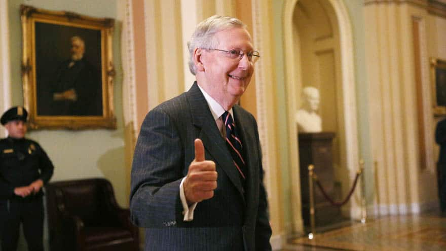 Partner Content - REPORT: McConnell Considering 'Kill Switch' for Impeachment Trial if Dem...