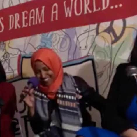NOT SORRY: Omar, Tlaib Laugh When Supporter Yells 'It IS About the Benjamins' in Reference to Israel