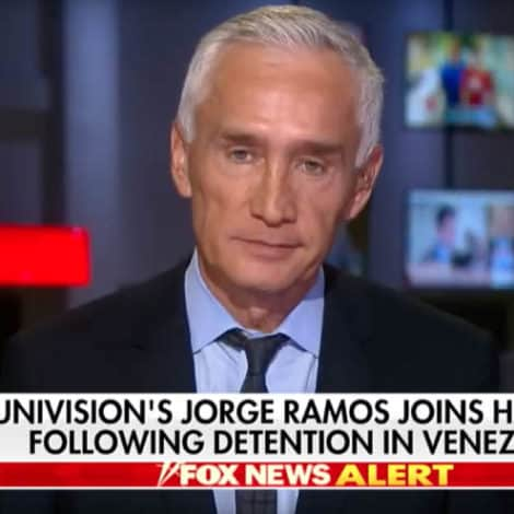 WATCH: Jorge Ramos Thanks Hannity and Fox News, Describes Being Detained in Venezuela