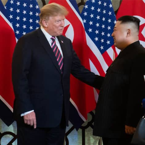 MAKING HISTORY: President Trump, Kim Jong Un Meet for High-Stakes Nuclear Negotiations