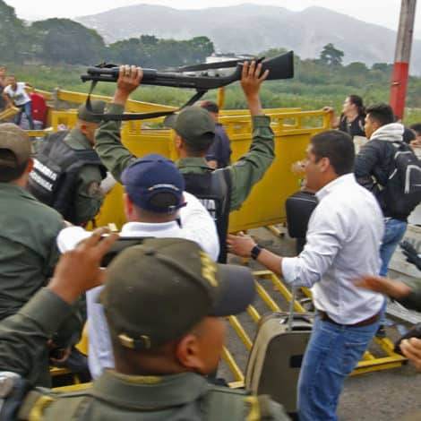 ON THE BRINK: 'Hundreds' of Venezuelan Troops 'DEFECT' as Country Descends into Chaos