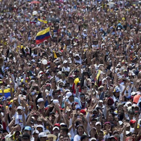 ON THE BRINK: Violence Erupts in Venezuela, Opposition Trucks 'SLAM' into Maduro's Military