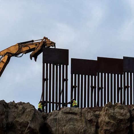 THE WALL: Construction Begins in California on 14 Miles of '30-Foot-High' Border Wall