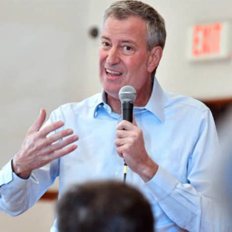 NO THANKS! De Blasio Addresses Crowd of Just 'SIX PEOPLE' in New Hampshire Town Hall