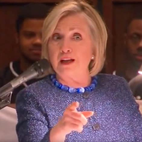 EXCUSES TOUR 2019: Hillary Says She Lost Wisconsin Because of… the SUPREME COURT
