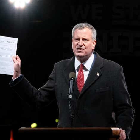 LIBERAL PRIORITIES: Forget Amazon, De Blasio Issues Instructions on Proper Use of NYC's TOILETS
