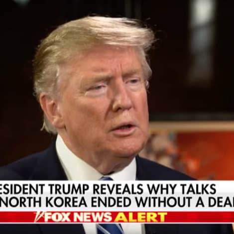 HANNITY EXCLUSIVE: President Trump Discusses Future of North Korea Nuclear Negotiations
