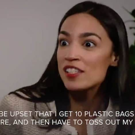 CORTEZ CONFUSION: AOC Says Americans Must 'Keep Fighting' Against 'Plastic Bags at Grocery Stores'