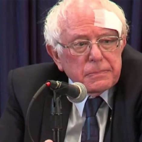 DEVELOPING: Bernie Sanders Injured in Shower Accident, Receives At Least 7 Stitches