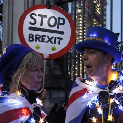MAY DAY! UK Brexit Vote Goes Down in Flames, Prime Minister's Future in Jeopardy