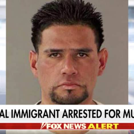 REPORT: Illegal Immigrant Ordered 'Detained by ICE' 10 TIMES Arrested for Murder in California