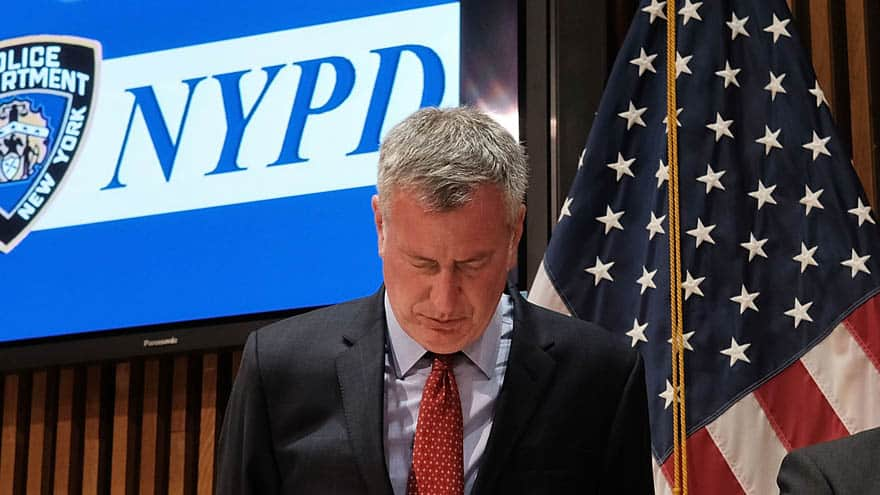 Partner Content - NYC FALLOUT: ICE Director Says De Blasio Needs to 'Own' Murder of 92-Yea...