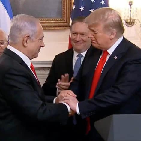 MAKING HISTORY: President Trump Signs Proclamation Recognizing Golan Heights as Israeli Territory