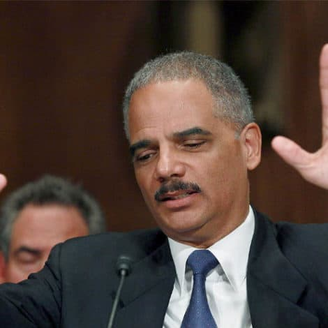 FAILURE TO LAUNCH: Eric Holder Confirms He Won't Run for the White House in 2020