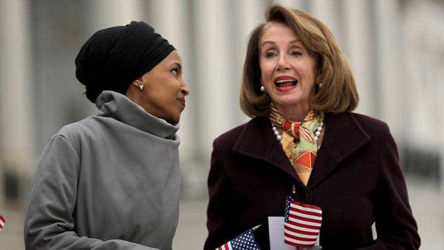 Partner Content - PELOSI WEIGHS IN: Nancy Says Squad-Ban 'Beneath the Dignity of Israel'