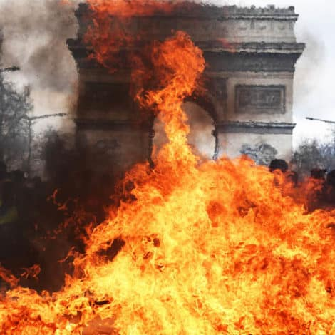 PARIS BURNING: French President Considers 'Banning Demonstrations' After Weekend of Violence