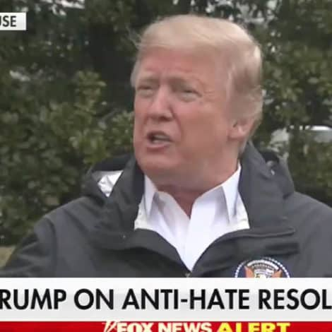 TRUMP RESPONDS: The President Blasts 'Disgraceful' Democrats as the 'Anti-Jewish Party'