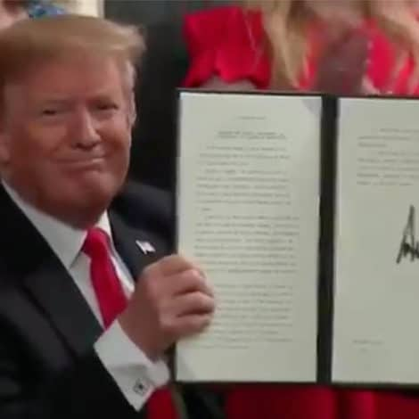 CAMPUS REFORM: Trump Signs Executive Order Protecting 'Free Speech' on College Campuses
