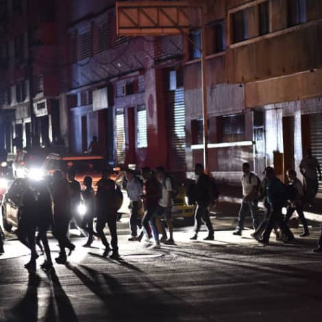 INTO DARKNESS: Venezuela Thrust into Chaos as Power Goes Out Across the Country