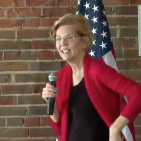 WATCH: Elizabeth Warren Confronted Over 'Abortion Bill' in Iowa Town Hall