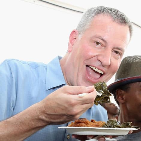 GREEN NEW MEAL! De Blasio Vows to 'Reduce Red Meat' by 50% in All City-Owned Facilities