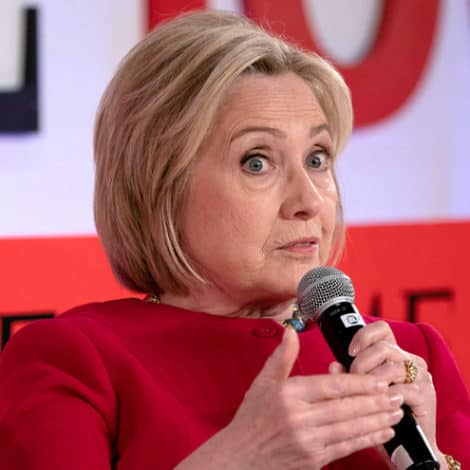 HILLARY CLINTON: I Was the 'Target of a Russian Plot' in 2016, 'Election Corrupted' by Putin