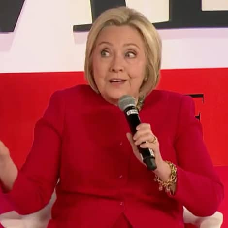 IRONY ALERT: Hillary Clinton Says Trump 'Certainly' Should Have Been 'Indicted'