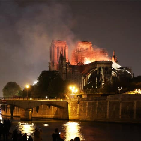 PARIS UPDATE: Firefighters Unsure if 'Inferno Can Be Stopped,' Trump Responds to Catastrophe