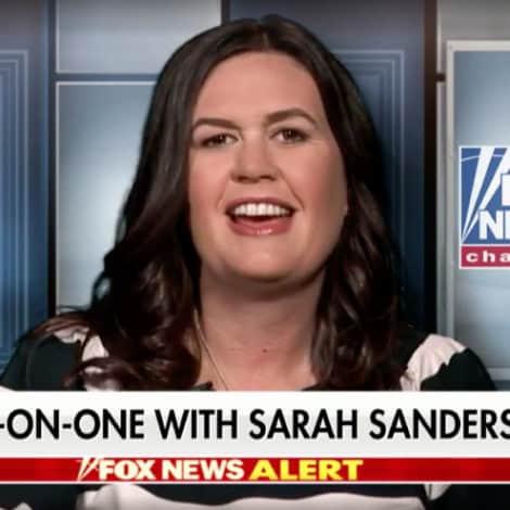 SANDERS ON HANNITY: The Mainstream Media's Mueller 'Meltdown' is 'Truly Astonishing'