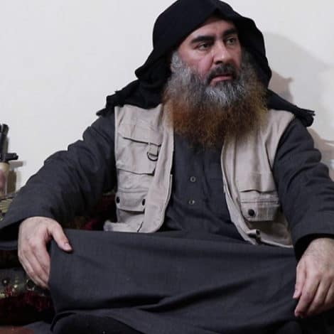 BREAKING: Intel Group Says ISIS Leader al-Baghdadi Photographed for the First Time in 5 YEARS