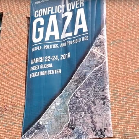 UPDATE: YouTube Removes Video of Activists at UNC Slamming Israel During Anti-Semitic Conference