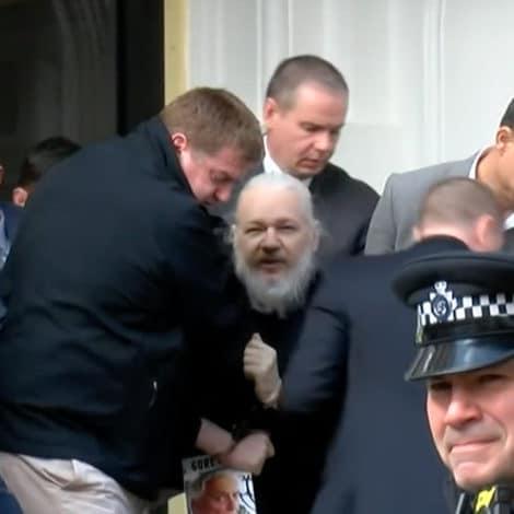 BREAKING: WikiLeaks Founder Julian Assange ARRESTED in London, Dragged from Ecuadorian Embassy