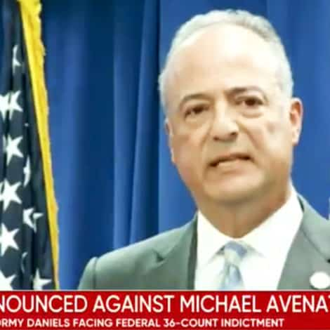 UPDATE: Michael Avenatti Officially Charged with 36 Crimes, Could Face 335 Year Prison Sentence