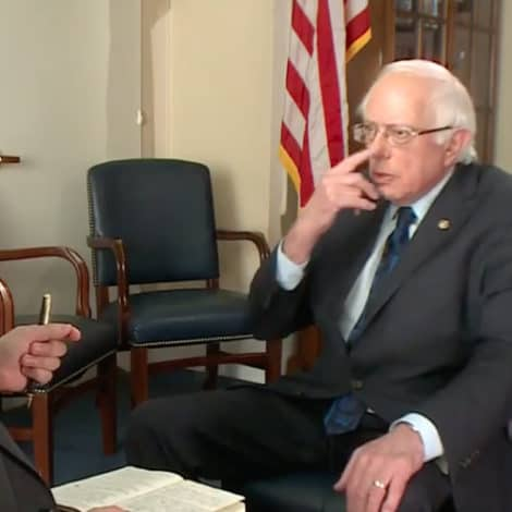 BERNIE'S PLAN: Private Insurance Companies Will 'Be Reduced' to Covering 'Nose Jobs'