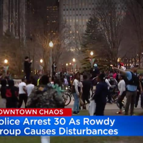 CHAOS IN CHICAGO: 'Hundreds of Teens' Take Over Downtown, Ignore Police, Fight in Streets