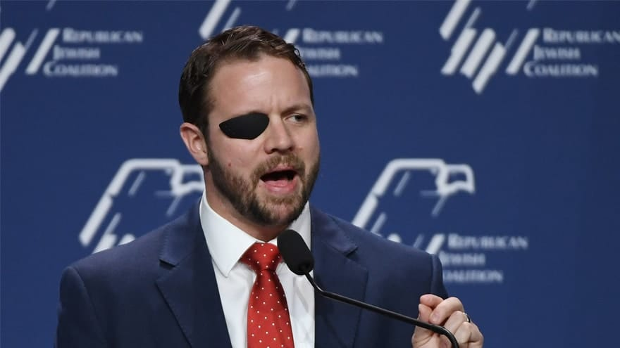 image for CRENSHAW CRUSH: Dan Crenshaw Calls AOC, Bernie's 'Green New Deal' a '3rd...