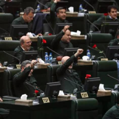 TENSE IN TEHRAN: Iranian Parliament Chants 'Death to America' After New US Sanctions