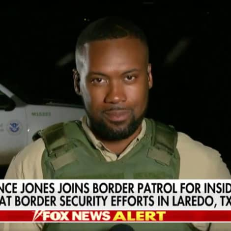 EXCLUSIVE VIDEO: Lawrence Jones Gets an Inside Look at Border Security in Laredo, Texas