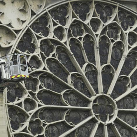 FROM THE ASHES: Notre Dame's Medieval Stained-Glass Windows SURVIVE Massive Blaze