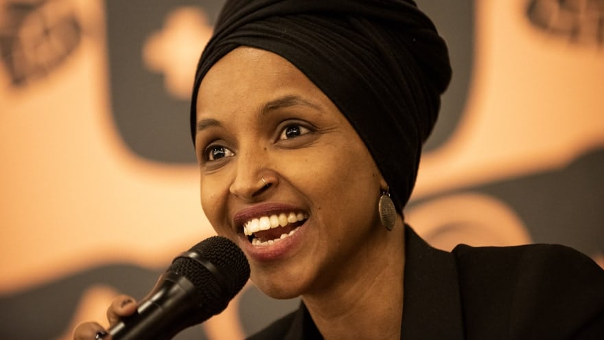 Partner Content - OMAR ERUPTS: Rep. Omar Defends Tlaib's 'Holocaust' Remark, Says Trump 'Smearing a Muslim Woman'