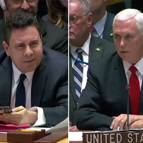 PENCE UNLEASHED: The Vice President SLAMS Maduro's UN Ambassador to His Face